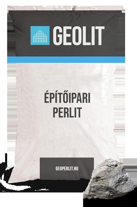 A Geolit építőipari perlit felhasználása rendkívül széleskőrű