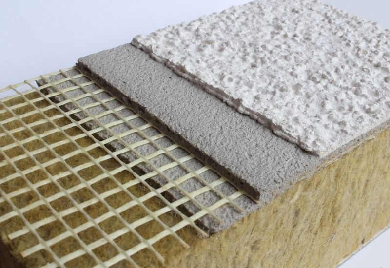 A hőszigetelő vakolat alkalmazható önállóan vagy táblás hőszigetelő rendszer kiegészítéseként